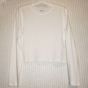 Wild Fable Cropped T Shirt Small White